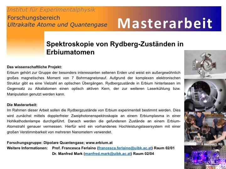 MasterArbeit rydberg