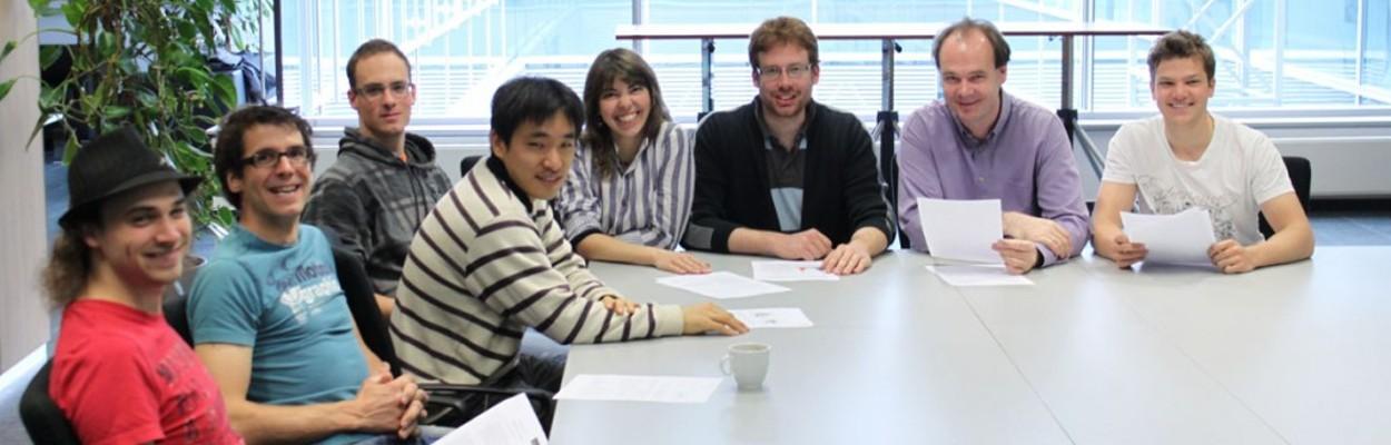 ERBIUM Team in 2012