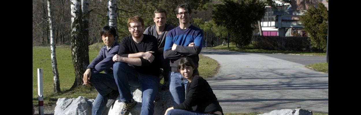 ERBIUM Team in 2013