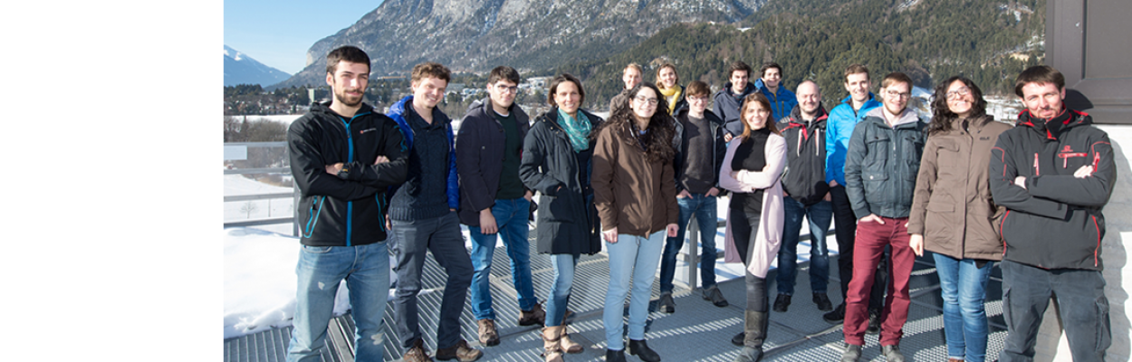 Our dipolar quantum gas group …