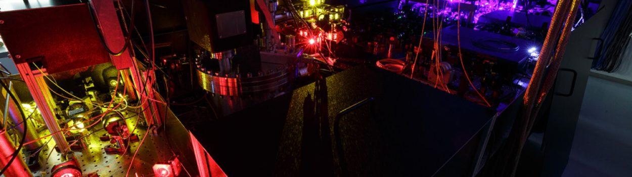 Laser setup …