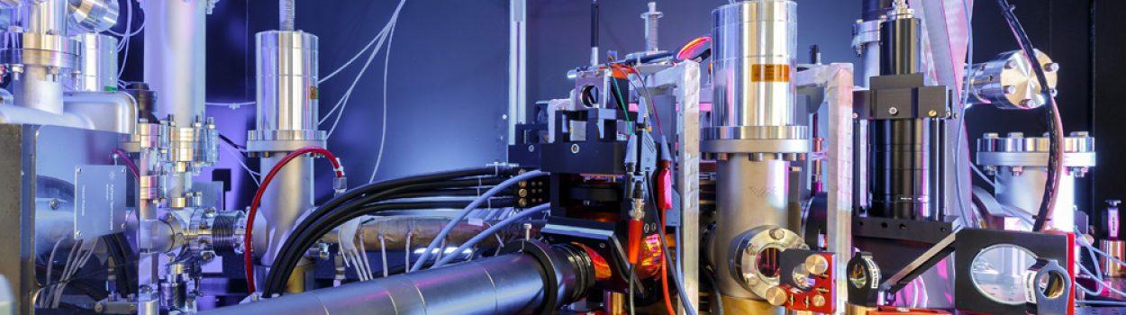 The main vacuum chamber …