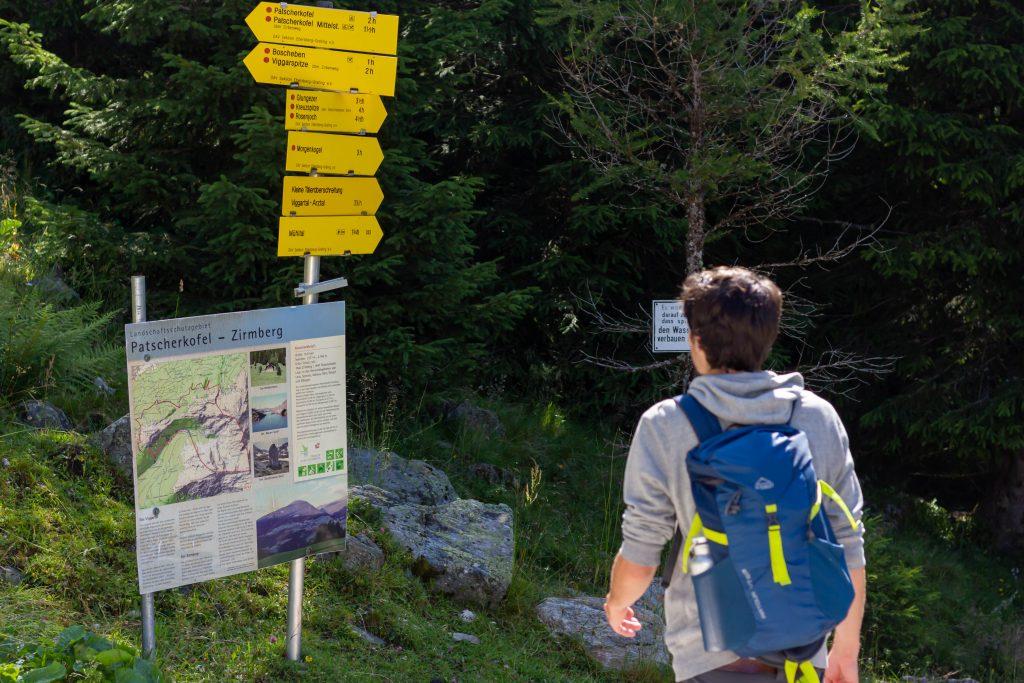 Erbin-team hike to the Meissner Haus